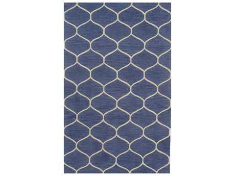 Momeni Newport Rectangular Blue Area Rug