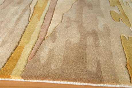 Momeni New Wave Rectangular Sand Area Rug