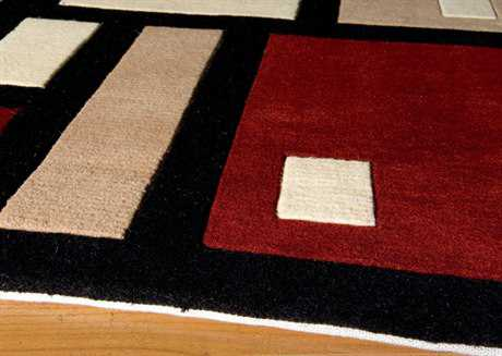 Momeni New Wave Black Runner Rug