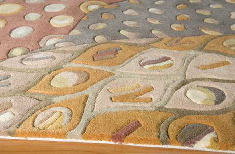 Momeni New Wave Natural Runner Rug