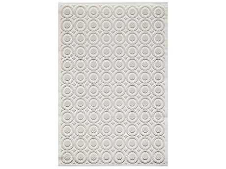 Momeni Platinum Rectangular Ivory Area Rug