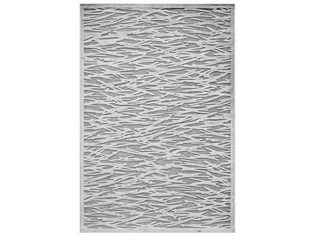 Momeni Platinum Rectangular Gray Area Rug