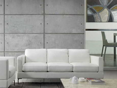 Moroni Tobia Contemporary Snow White Sofa