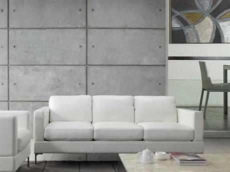 Moroni Tobia Contemporary Snow White Sofa