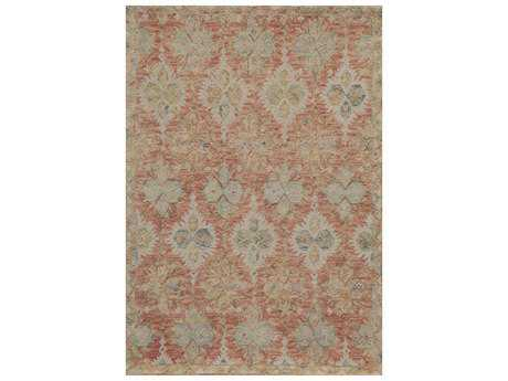 Momeni Tangier Rectangular Red Area Rug