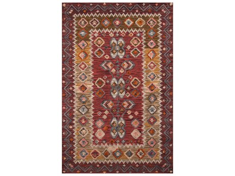 Momeni Tangier Red Area Rug