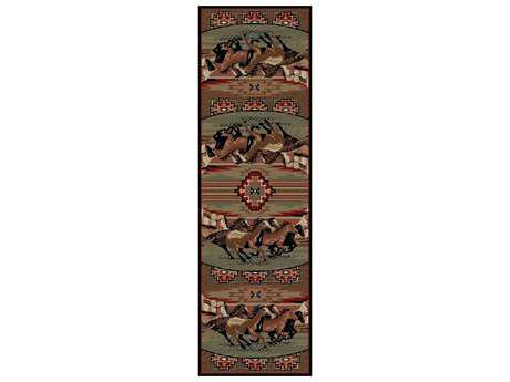 Mayberry American Destination Mesa Verde Rectangular Multi Area Rug