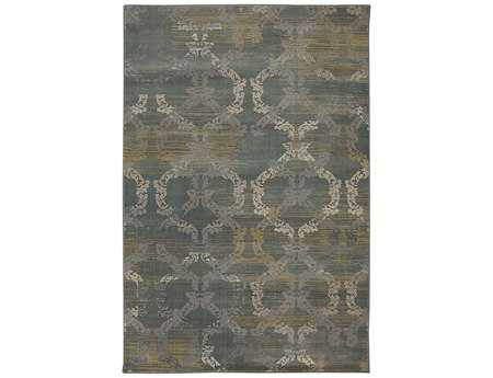 Mayberry Harbor Bay Ashley  Rectangular Gray Area Rug