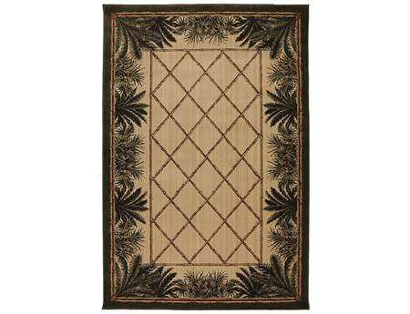 Mayberry Harbor Bay Bahama Breeze Rectangular Beige Area Rug