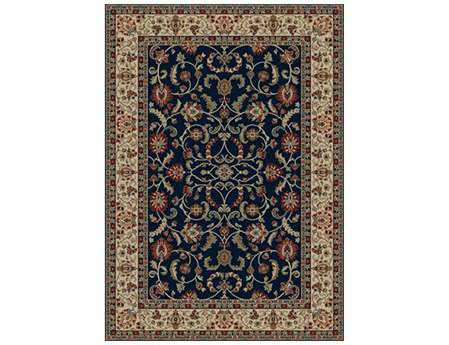 Mayberry Home Town Classic Keshan Rectangular Blue Area Rug