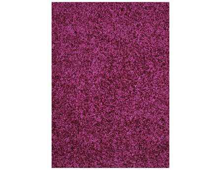 Mayberry Super Shag Cloud Rectangular Purple Area Rug