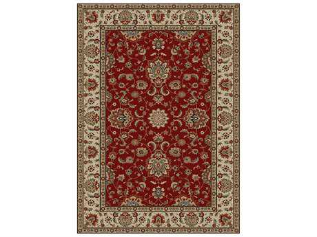 Mayberry Timeless Olivia Rectangular Red Area Rug