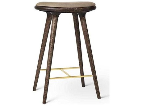 Mater Space Copenhagen Dark Stain with Metal Brass Counter Stool (LIMITED EDITION)