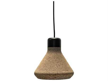 Mater Luiz Light Cork 7'' Wide Mini-Pendant Light