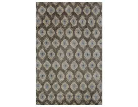Meva Belize Rectangular Brown Area Rug