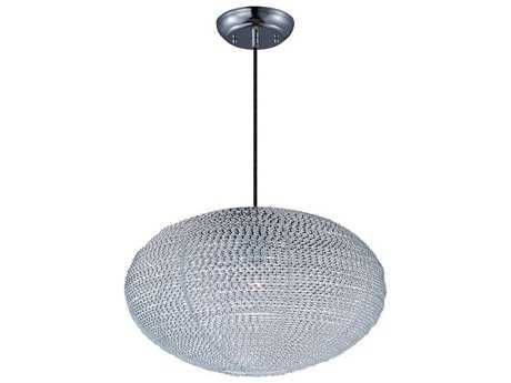 Maxim Lighting Twisp Polished Chrome 20'' Wide Pendant Light
