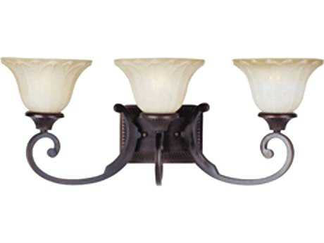 Maxim Lighting Allentown Oil Rubbed Bronze Three-Light Vanity Light