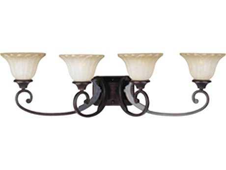 Maxim Lighting Allentown Oil Rubbed Bronze Four-Light Vanity Light