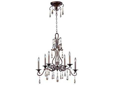 Maxim Lighting Chic Heritage Six-Light 17.75 Wide Chandelier