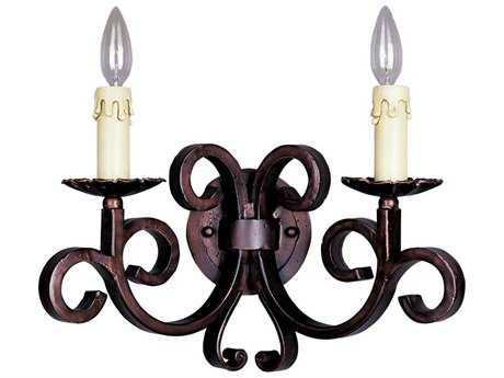 Maxim Lighting Verona Oil Rubbed Bronze Two-Light Wall Sconce