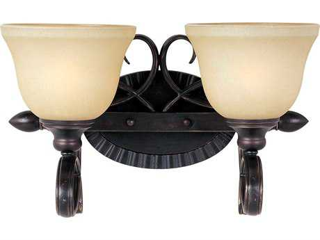 Maxim Lighting Infinity Oil Rubbed Bronze Two-Light Vanity Light