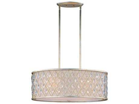 Maxim Lighting Diamond Golden Silver Four-Light 29.5'' Long Island Light