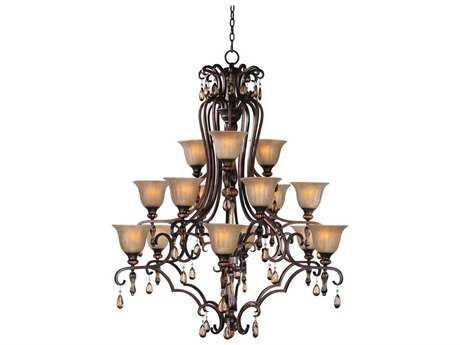 Maxim Lighting Dresden Filbert 15-Light 47 Wide Grand Chandelier
