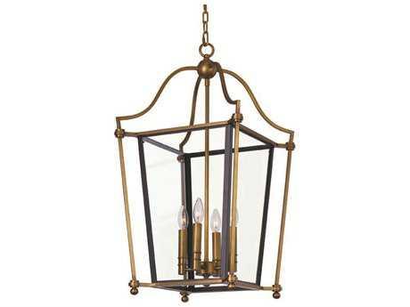 Maxim Lighting Ritz Natural Aged Brass Four-Light 21.75 Wide Chandelier