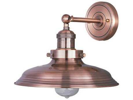 Maxim Lighting Mini Hi-Bay Antique Copper Wall Sconce