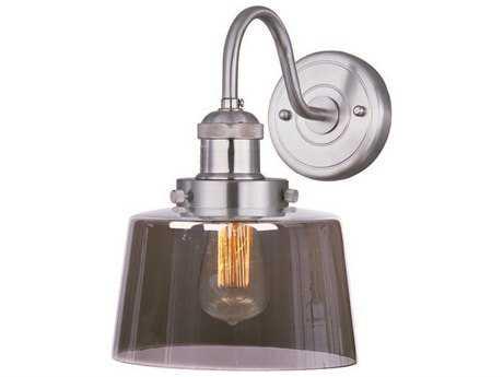 Maxim Lighting Mini Hi-Bay Satin Nickel Wall Sconce