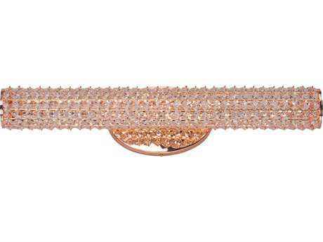 Maxim Lighting Meteor LED Rose Gold 23'' Wide Vanity Light