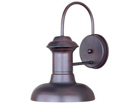 Maxim Lighting Wharf Oriental Bronze 12'' Wide Outdoor Wall Light