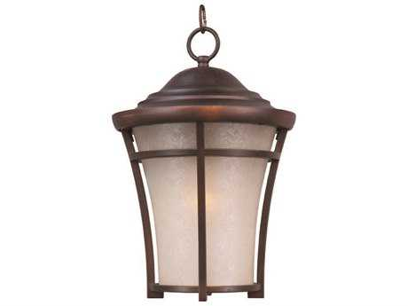Maxim Lighting Balboa Copper Oxide & Lace Copper Glass 12'' Wide Incandescent Outdoor Hanging Light