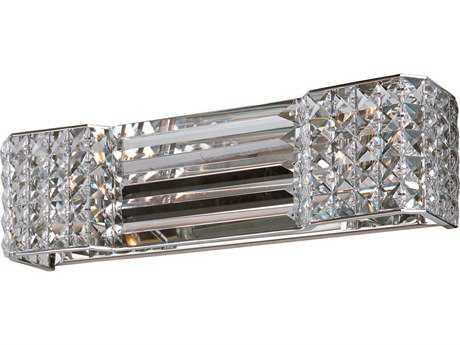 Maxim Lighting Manhattan Polished Chrome Two-Light Vanity Light