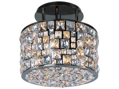 Maxim Lighting Fifth Avenue Luster Bronze Six-Light 16'' Wide Semi-Flush Mount Light
