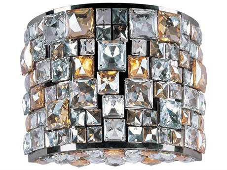 Maxim Lighting Fifth Avenue Luster Bronze Three-Light Wall Sconce