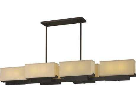 Maxim Lighting Esquire Dark Bronze 12-Light 63'' Wide LED Island Light