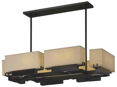 Maxim Lighting Esquire Dark Bronze 12-Light 41'' Wide LED Island Light