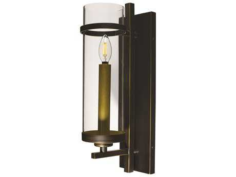 Maxim Lighting Midtown Gold Bronze 5'' Wide LED Wall Sconce