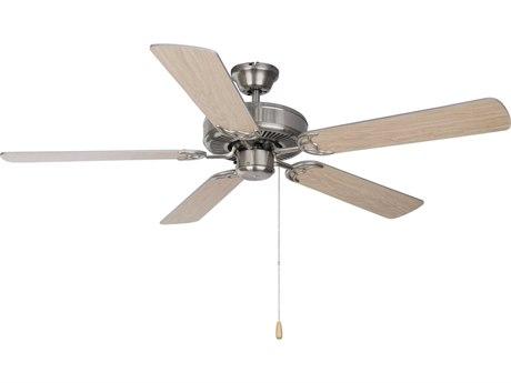 Maxim Lighting Basic-Max Satin Nickel  52'' Wide  Indoor Ceiling Fan