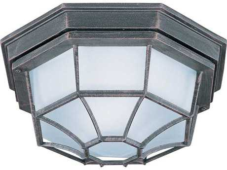 Maxim Lighting Rust Patina LED Outdoor Ceiling Light