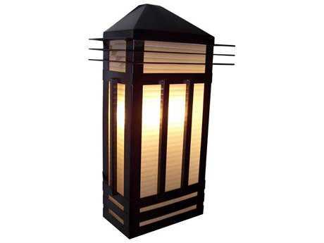 Maxim Lighting Gatsby Burnished Three-Light Outdoor Wall Light