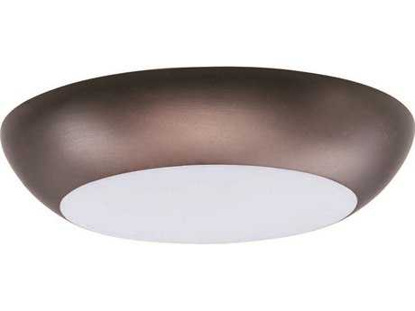 Maxim Lighting Diverse Bronze 6.5'' Wide LED Flush Mount Light