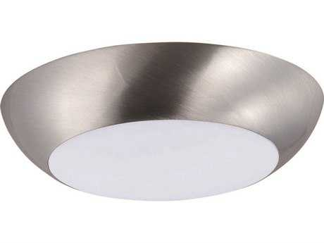 Maxim Lighting Diverse Satin Nickel 6.5'' Wide LED Flush Mount Light