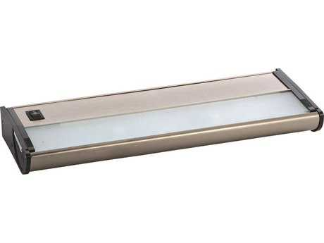 Maxim Lighting CounterMax MX-X120 Satin Nickel Two-Light 13'' Long Xenon Under Cabinet Light