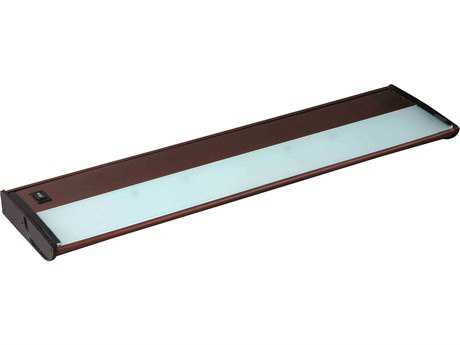 Maxim Lighting CounterMax MX-X120 Metallic Bronze Three-Light 21'' Long Xenon Under Cabinet Light