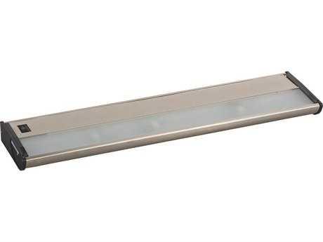 Maxim Lighting CounterMax MX-X120 Satin Nickel Three-Light 21'' Long Xenon Under Cabinet Light
