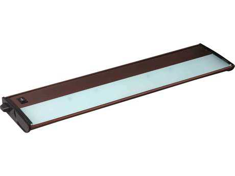 Maxim Lighting CounterMax MX-X120c Metallic Bronze Three-Light 21'' Long Xenon Under Cabinet Light