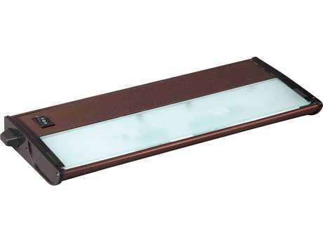 Maxim Lighting CounterMax MX-X12 Metallic Bronze Two-Light 13'' Long Xenon Under Cabinet Light Starter Kit