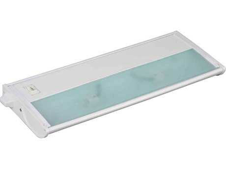 Maxim Lighting CounterMax MX-X12 White Two-Light 13'' Long Xenon Under Cabinet Light Starter Kit